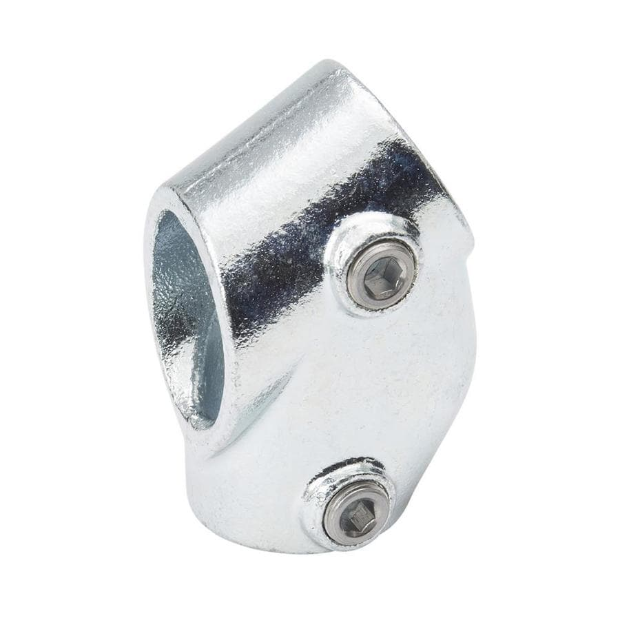 B&K 1-1/4-in x 1-1/4-in 45-Degree Gray Galvanized Steel Structural Pipe Fitting Tee