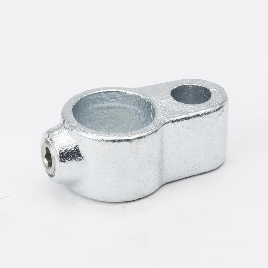 SteelTek 3/4-in Silver Galvanized Steel Structural Pipe Fitting Gate Eye