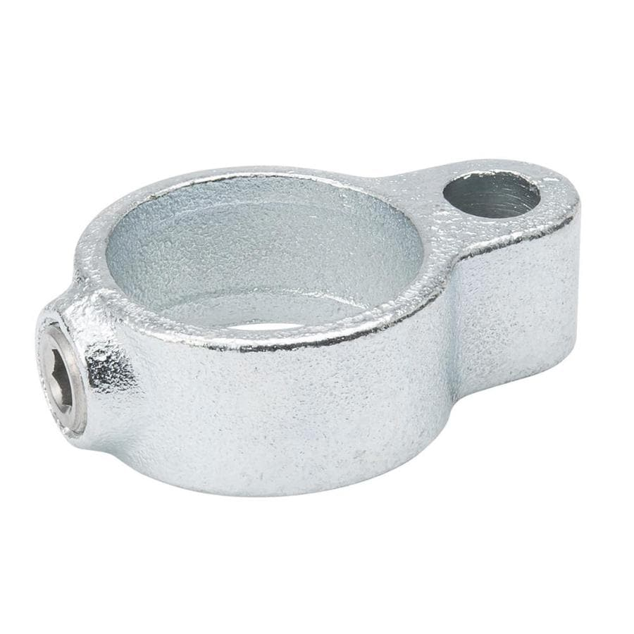 B&K 1-1/4-in x 1-1/4-in Gray Galvanized Steel Structural Pipe Fitting Gate Eye