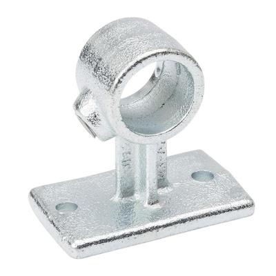 SteelTek 3/4-in Silver Galvanized Steel Structural Pipe