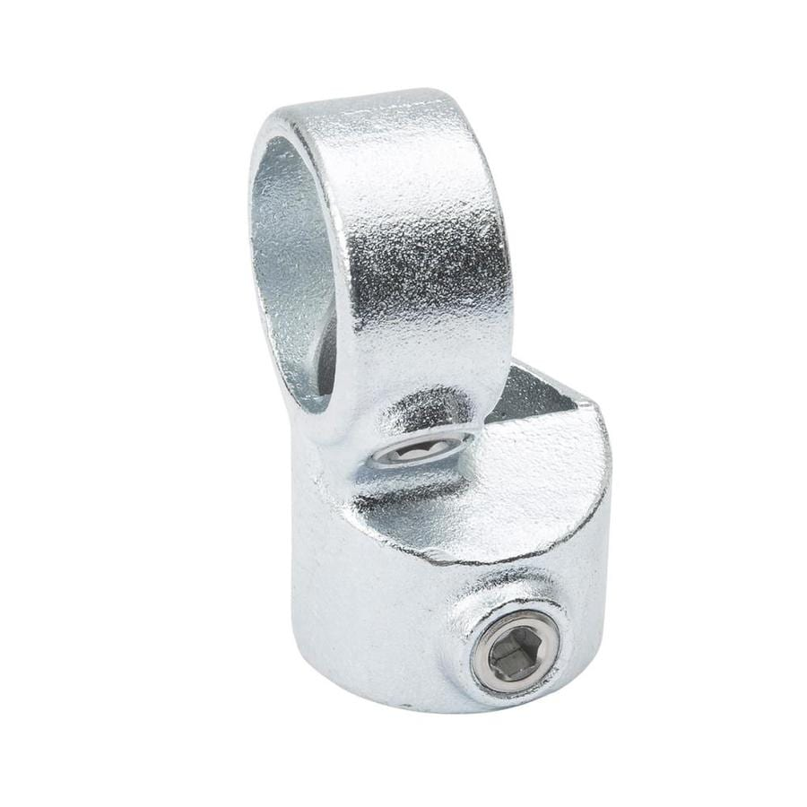 SteelTek 1-1/4-in x 90-Degree Silver Galvanized Steel Structural Pipe Fitting Side Outlet