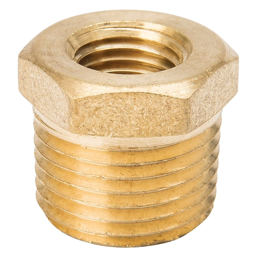 B&K 1/2-in x 1/4-in Threaded Coupling Bushing Fitting