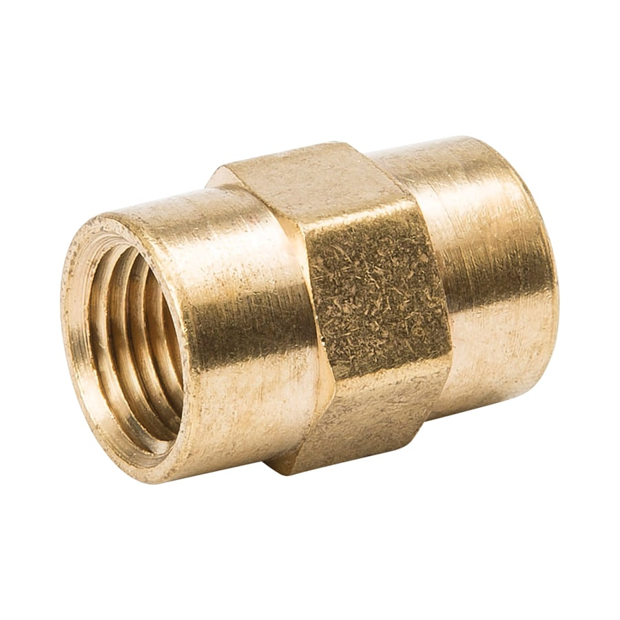 B&K 1/8-in x 1/8-in Threaded Coupling Fitting