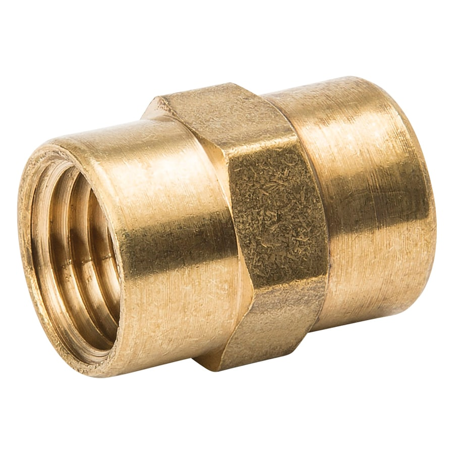 B&K 1/4-in x 1/4-in Threaded Coupling Fitting