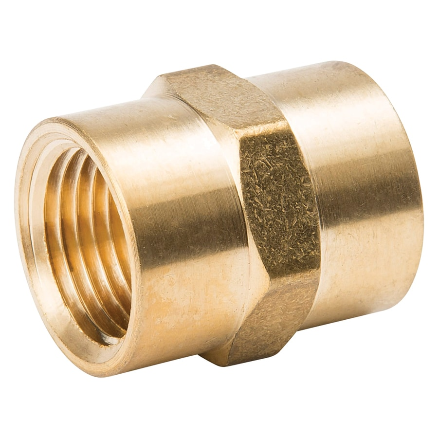 B&K 3/8-in x 3/8-in Threaded Coupling Fitting