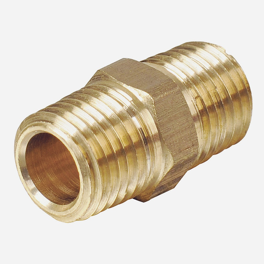B&K 3/8-in x 3/8-in Threaded Coupling Nipple Fitting