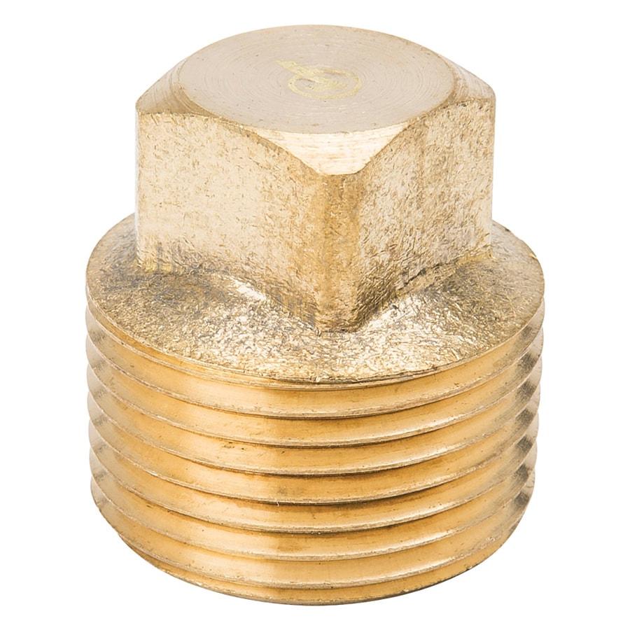 B&K 1/4-in Threaded Cap Plug Fitting