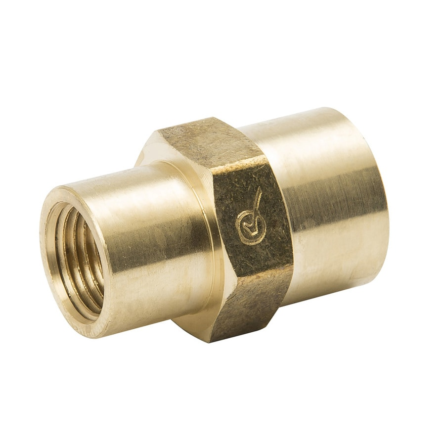 B&K 1/4-in x 1/8-in Threaded Coupling Fitting