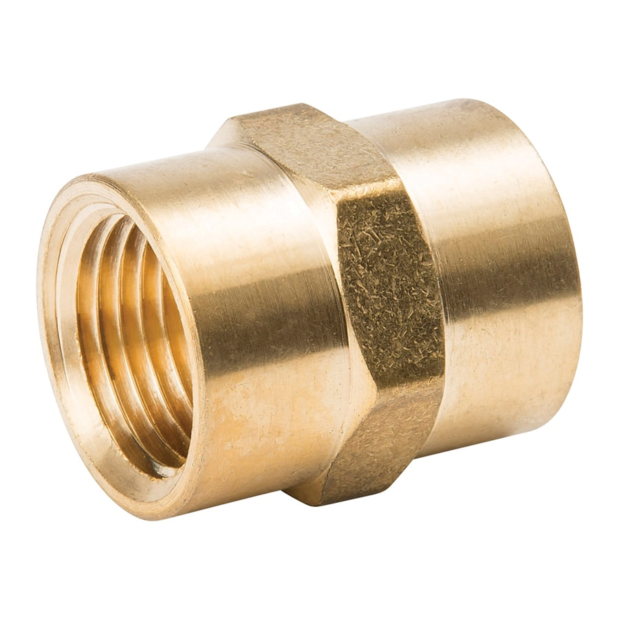 B&K 3/8-in x 1/4-in Threaded Coupling Fitting