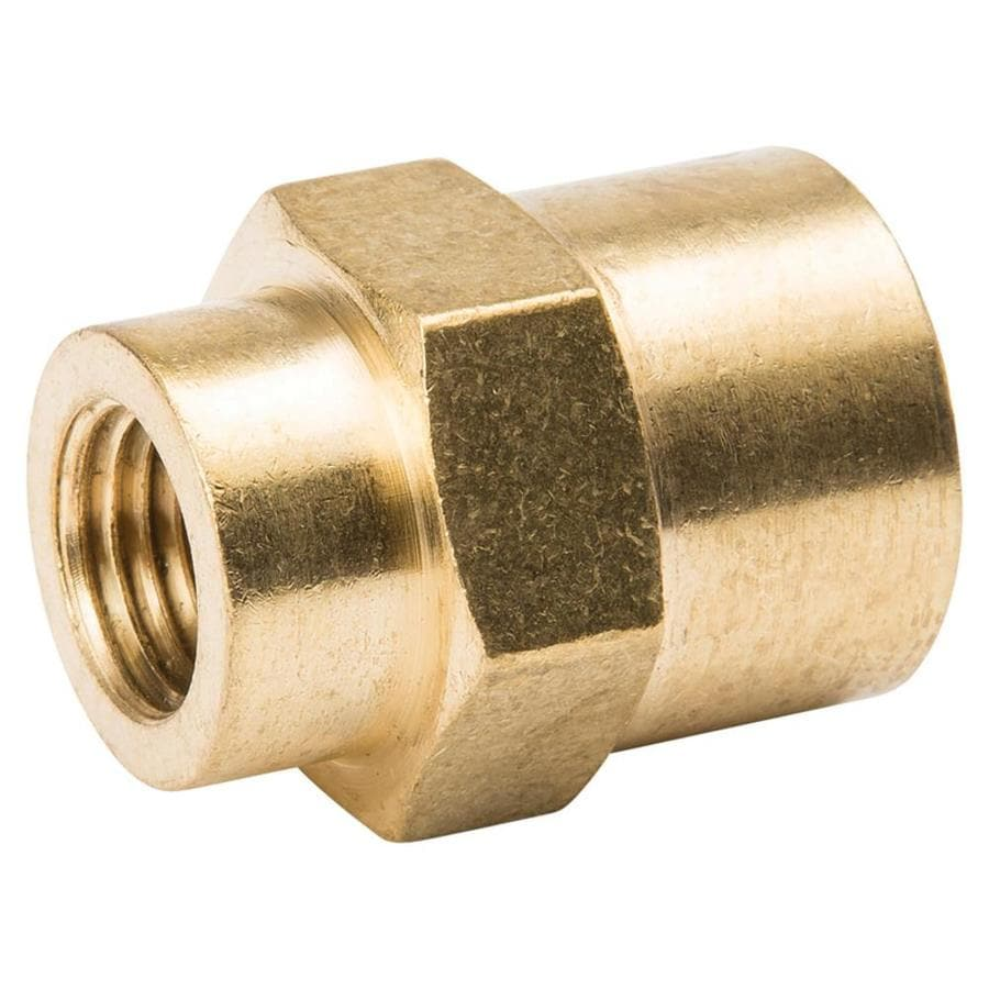 B&K 1/2-in x 1/4-in Threaded Coupling Fitting
