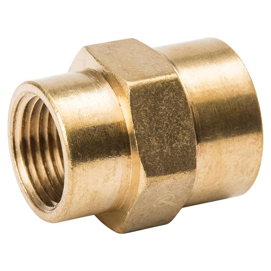 B&K 1/2-in x 3/8-in Threaded Coupling Fitting