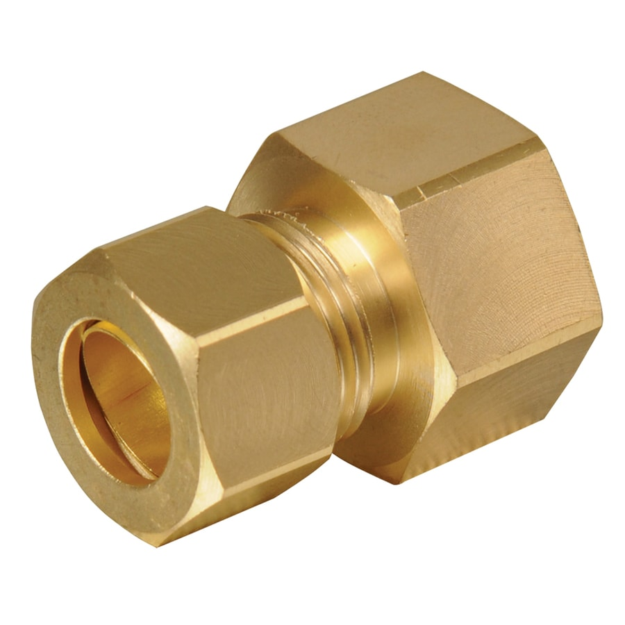 Shop B Amp K 1 2 In X 3 8 In Compression Adapter Fitting At