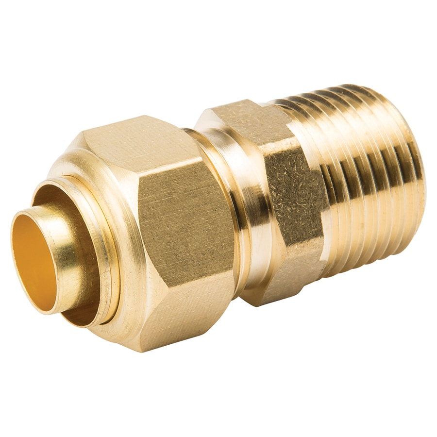 B&K 5/8-in x 1/2-in Compression Coupling Fitting