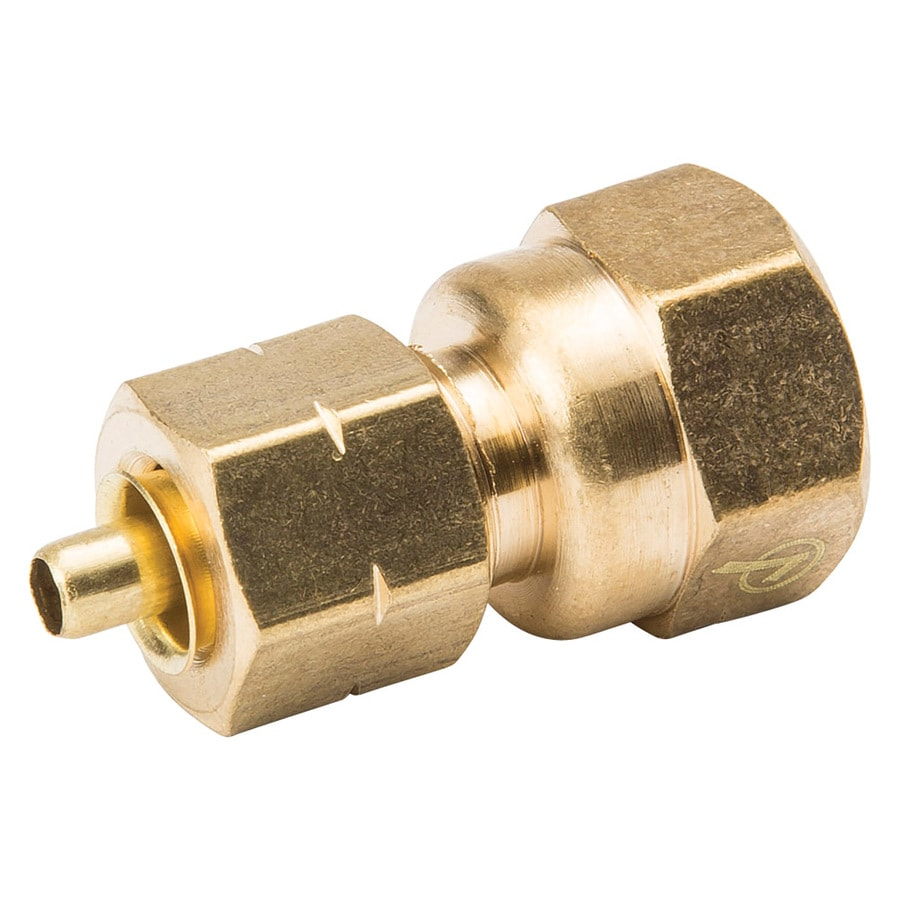 B&K 1/4-in x 1/4-in Compression Compression Coupling Coupling Fitting
