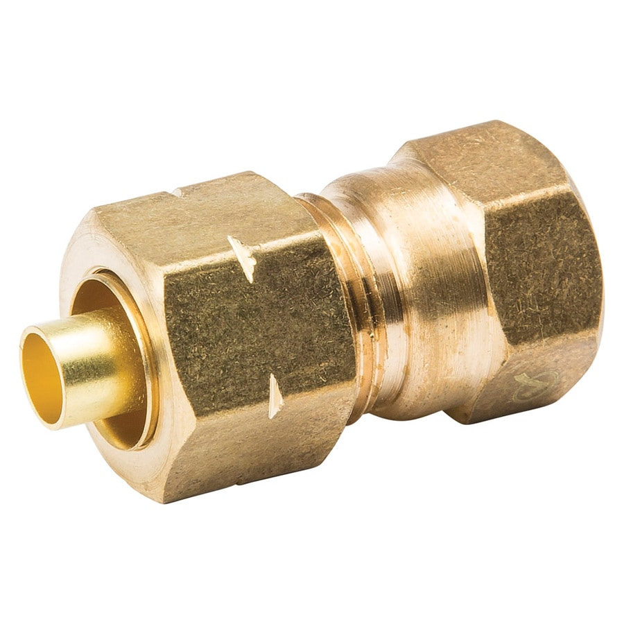 B&K 3/8-in x 1/4-in Compression Coupling Fitting