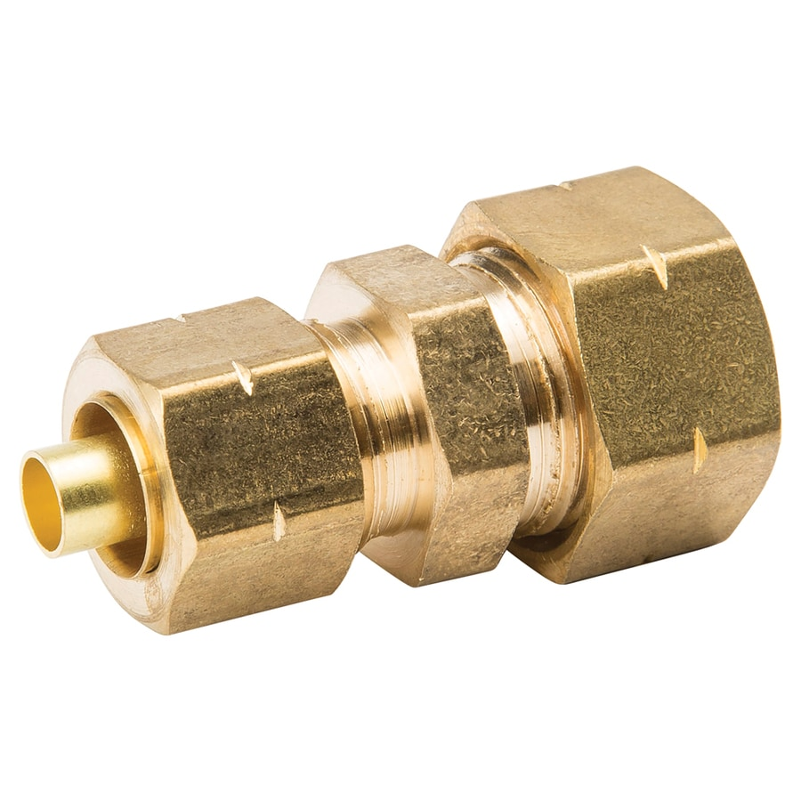 B&K 1/2-in x 3/8-in Compression Reducing Union Fitting