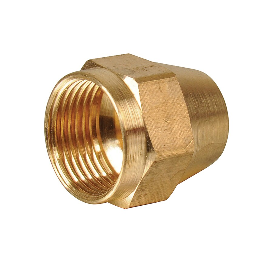 B&K 3/8-in x 3/8-in Threaded Nut Cap Fitting