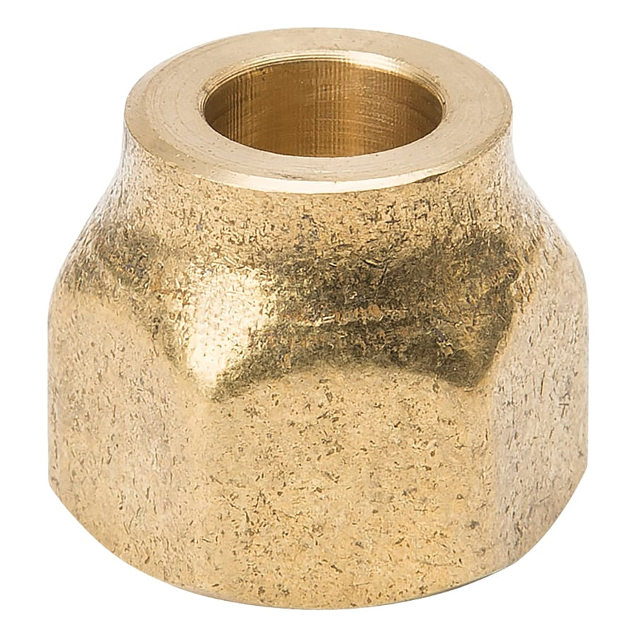 B&K 3/8-in x 3/8-in Threaded Nut Cap Fitting