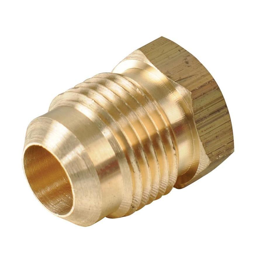 B&K 3/8-in x 3/8-in Threaded Cap Plug Fitting