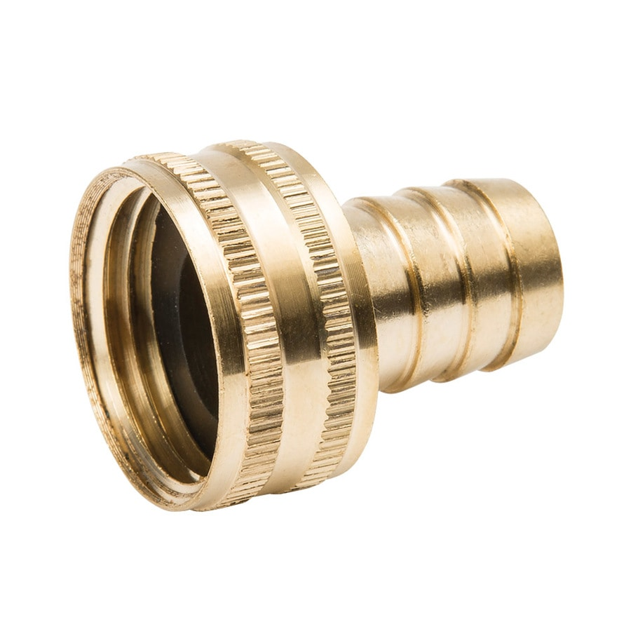 Threaded barb hose male fip mip adapter fitting