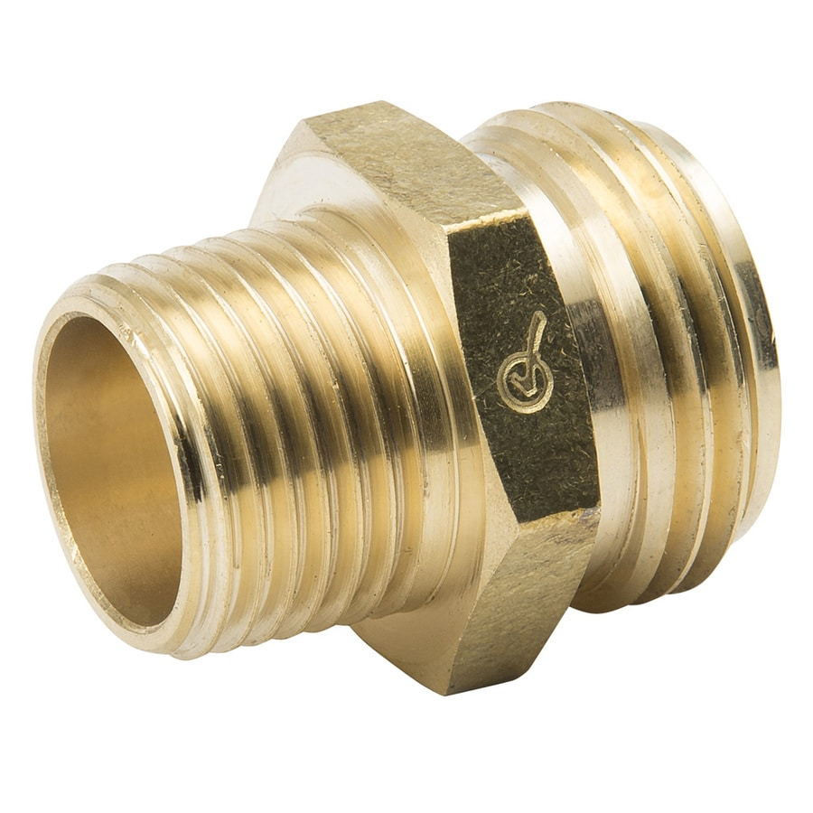 B&K 3/4-in x 1/2-in Threaded Male Hose x MIP Adapter Fitting