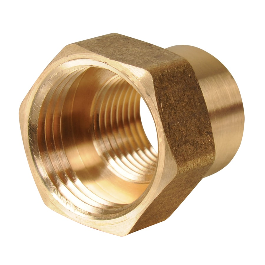 B&K 3/4-in x 1/2-in Threaded Female Hose x FIP Adapter Fitting