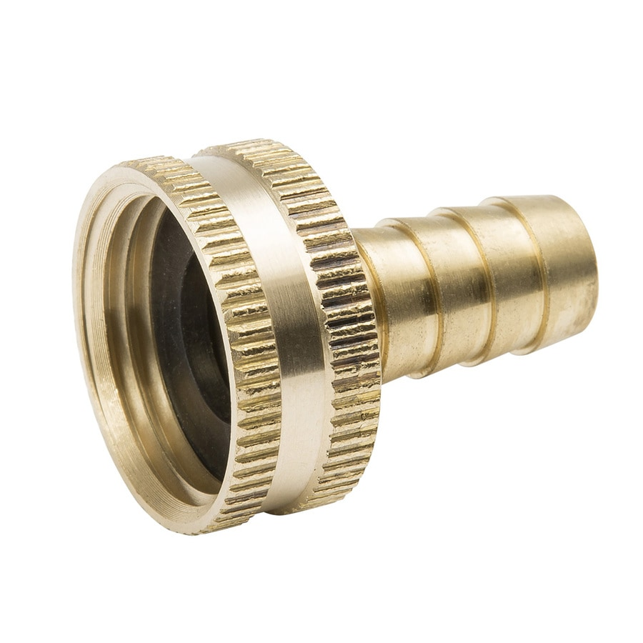 B&K 3/4-in x 1/2-in Threaded Barb x Garden Hose Adapter Fitting