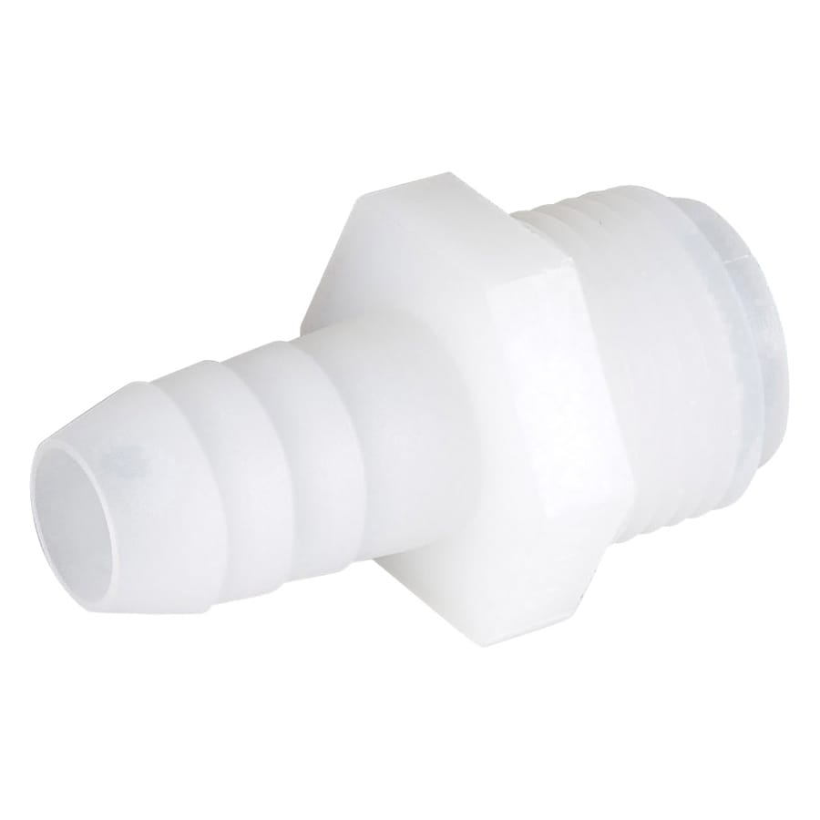 B&K 3/8-in x 1/2-in Barbed Barb x MIP Adapter Fitting
