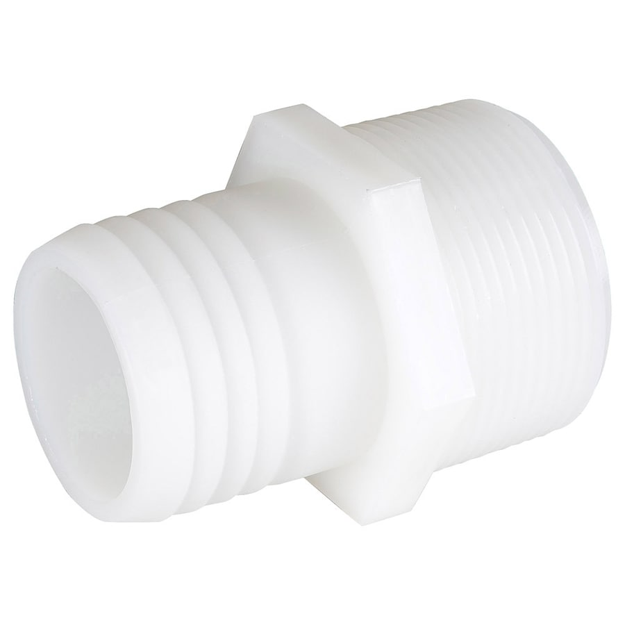 B&K 1-1/4-in x 1-in Barbed Barb x MIP Adapter Fitting