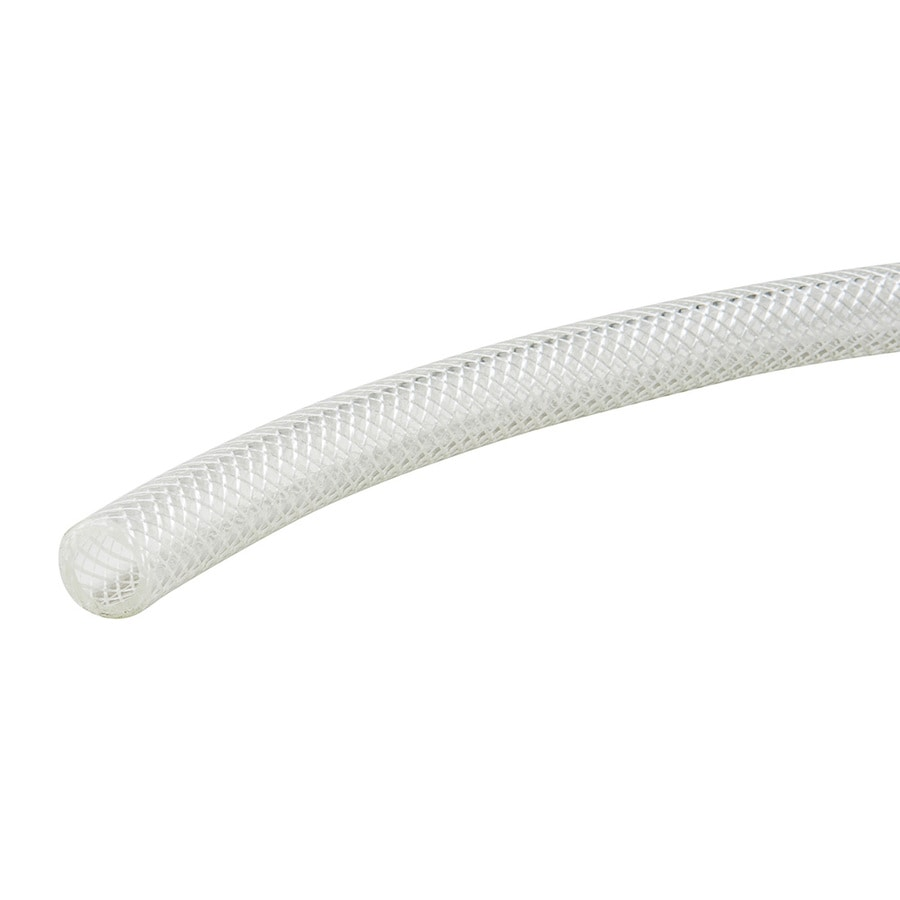 B&K 1-in x 1-ft Pvc Reinforced Braided Vinyl Tubing