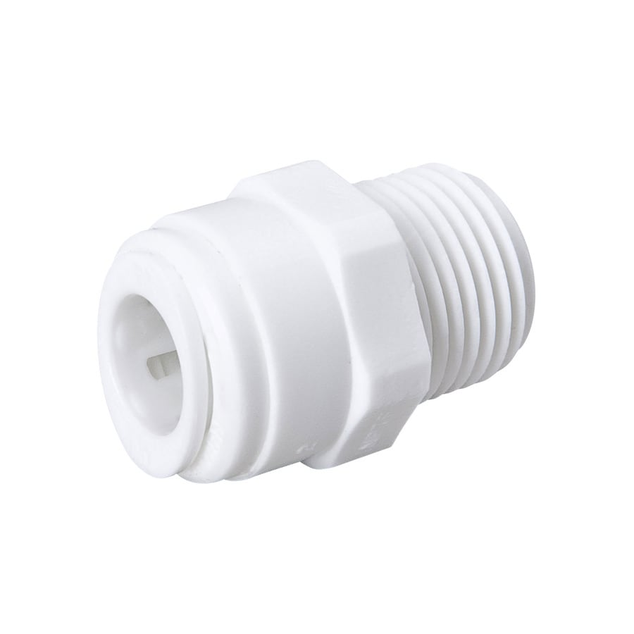 B&K 3/8-in x 1/4-in dia Male Adapter Push Fitting