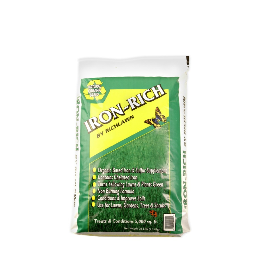 Richlawn Iron-Rich 25-lb 5000-sq ft 3-2-1  All-purpose Fertilizer