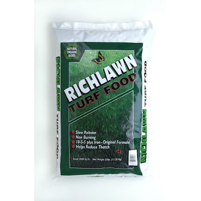 Richlawn 25-lb 2500-sq ft 10-2-5 Lawn Fertilizer at Lowes.com