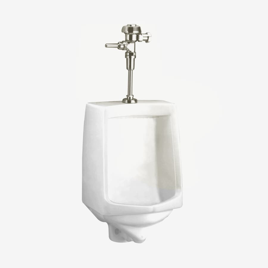 American Standard 17.5 In W X 26.75 In H White Wall Mounted Urinal