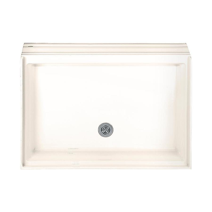Shop American Standard Linen Acrylic Shower Base 34.25-in W x 48.125 ...