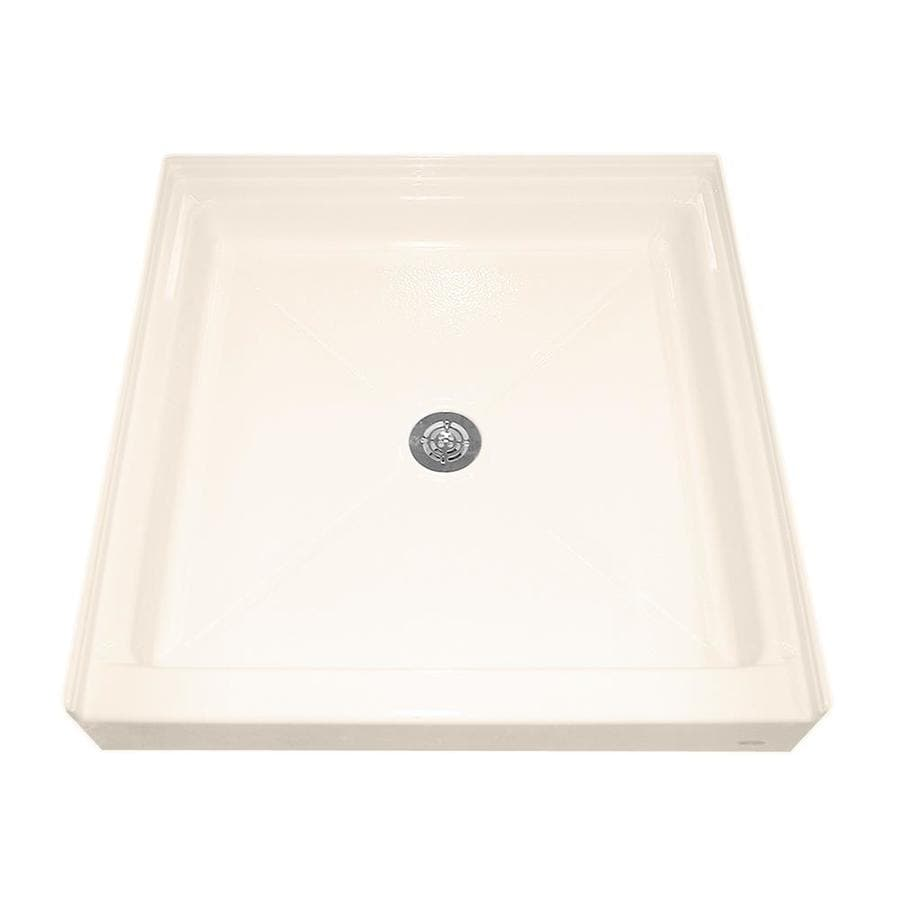 American Standard Linen Acrylic Shower Base (Common: 36-in W x 36-in L; Actual: 36.1875-in W x 36-in L)