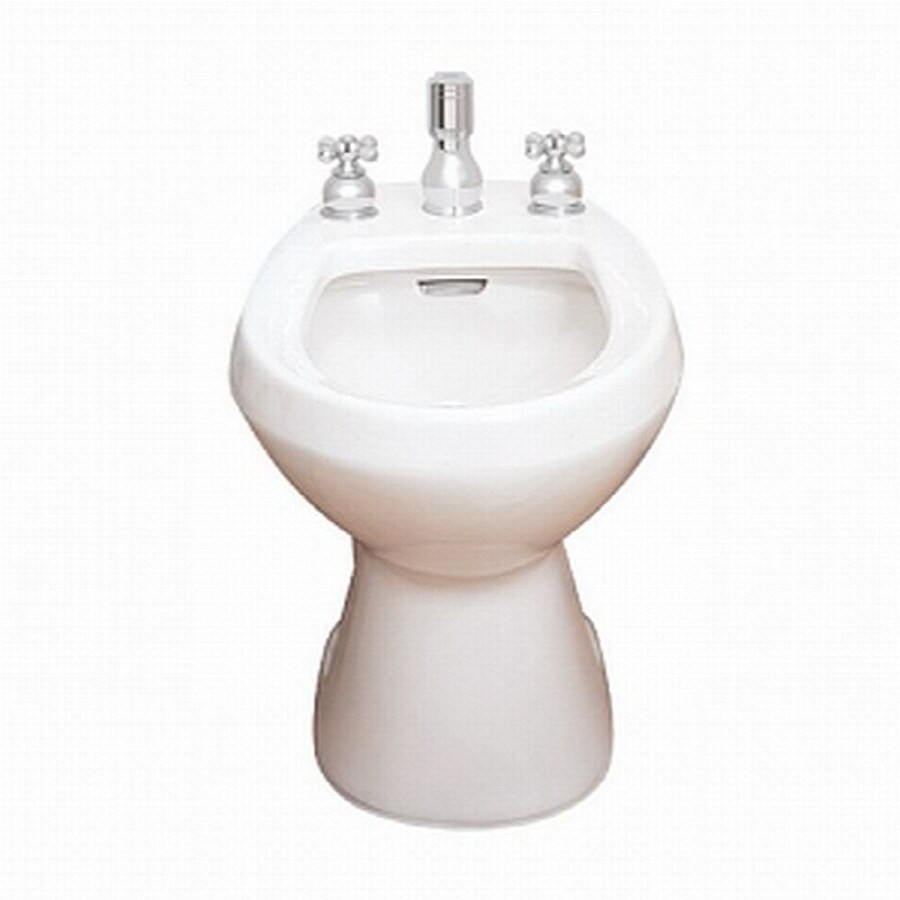 Regular Bathroom Toilet : Shop american standard cadet in h linen round bidet
