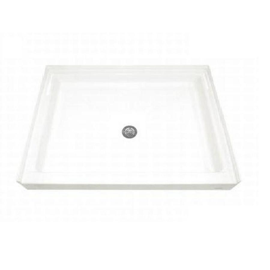 American Standard White Acrylic Shower Base (Common: 34-in W x 48-in L; Actual: 34.25-in W x 48.125-in L)