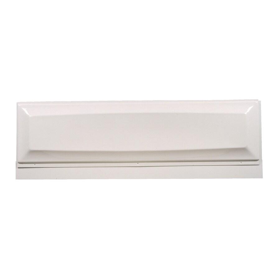 American Standard White Bathtub Apron