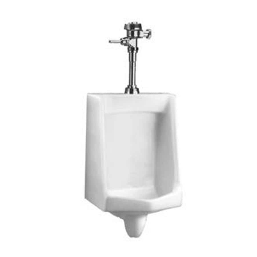 American Standard 18.5-in W x 28.75-in H White Wall-Mounted Urinal
