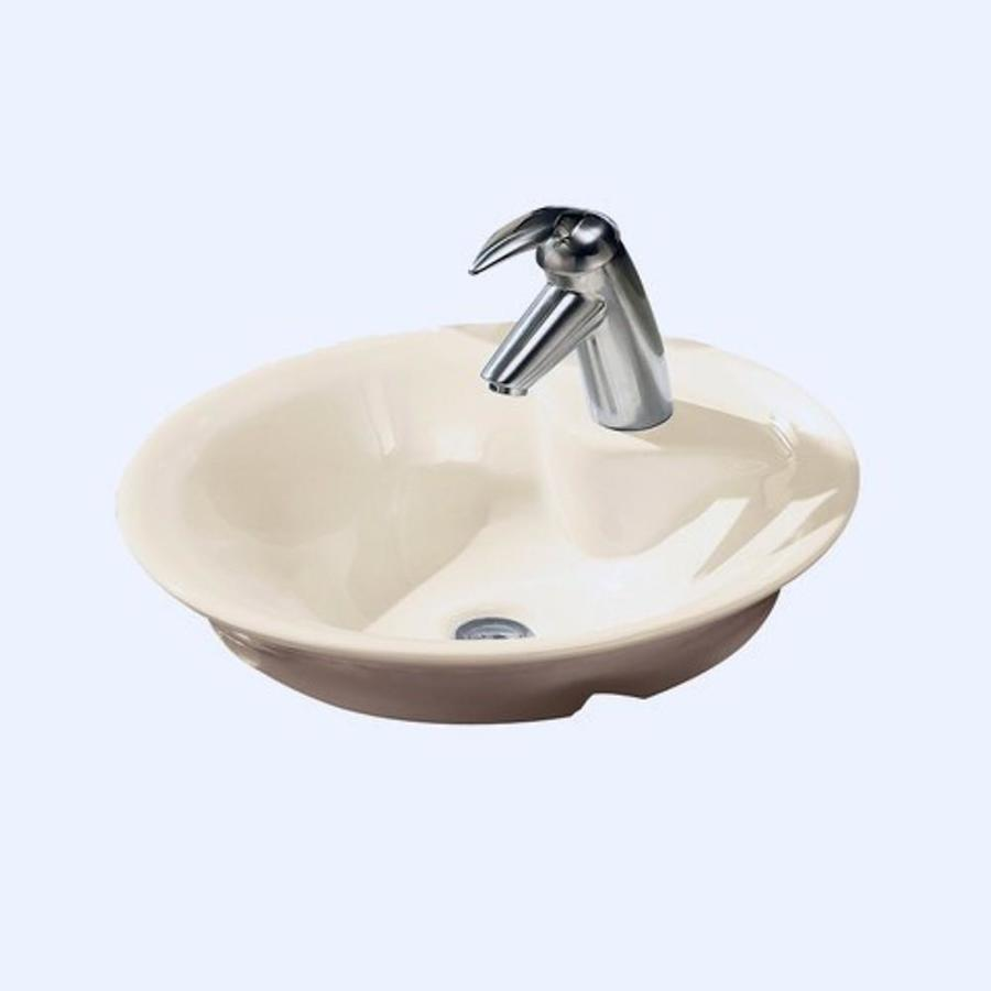 Shop American Standard White Vessel Round Bathroom Sink at Lowes.com