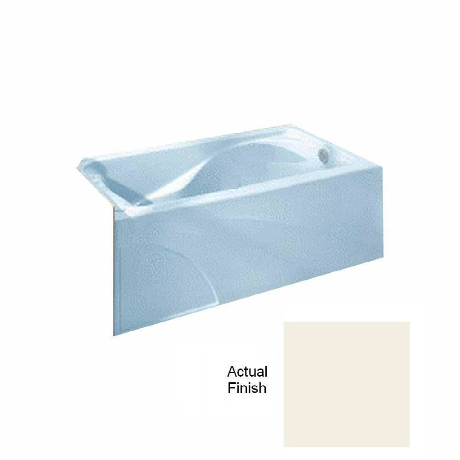 American Standard Cadet Linen Acrylic Hourglass In Rectangle Skirted Bathtub with Right-Hand Drain (Common: 32-in x 60-in; Actual: 19.75-in x 32-in x 60-in)