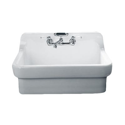 American Standard Country 22 In X 30 In White Single Basin