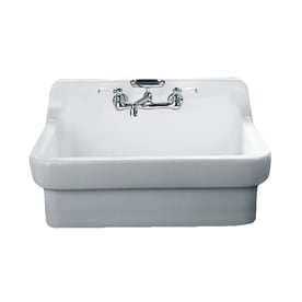 American Standard Country 30 In X 22 White Single Basin