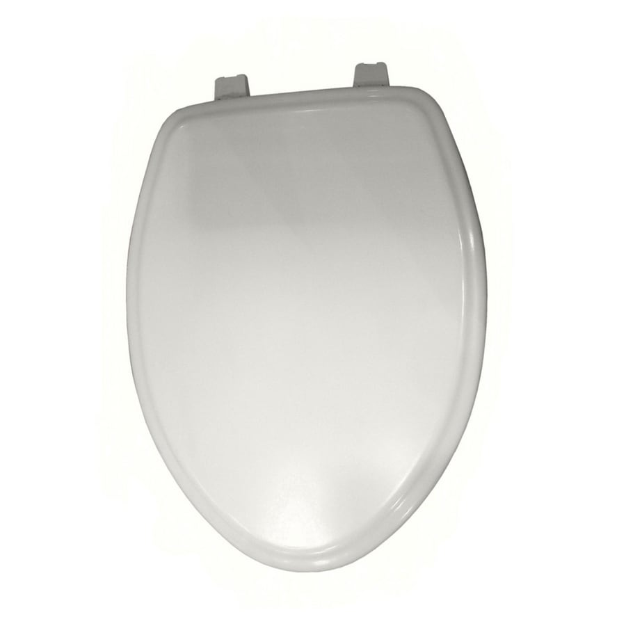 black square toilet seat. American Standard Elongated White Town Square Toilet Seat Shop at