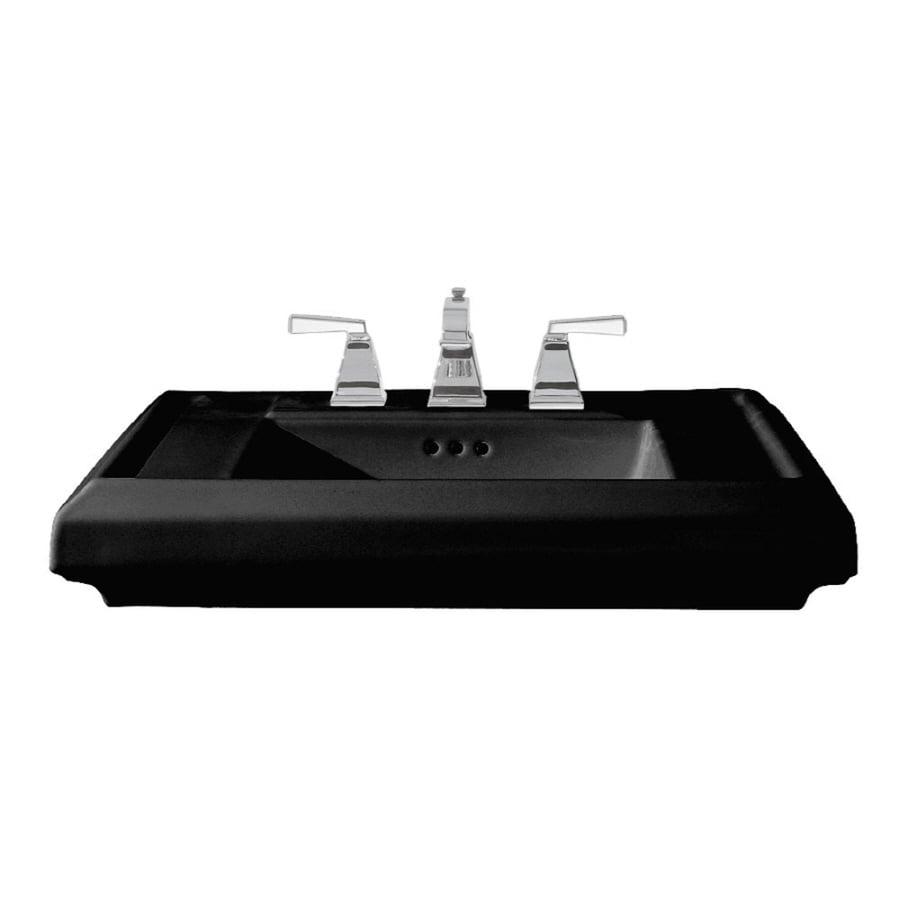 American Standard 21.25-in L x 27-in W Fire Clay Pedestal Sink Top