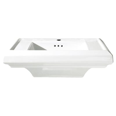 American Standard Town Square 7 5 In H White Fire Clay