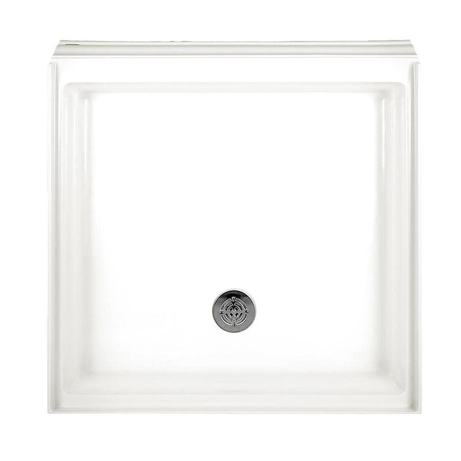 American Standard Town Square White Acrylic Shower Base (Common: 36-in W x 36-in L; Actual: 36-in W x 36-in L)