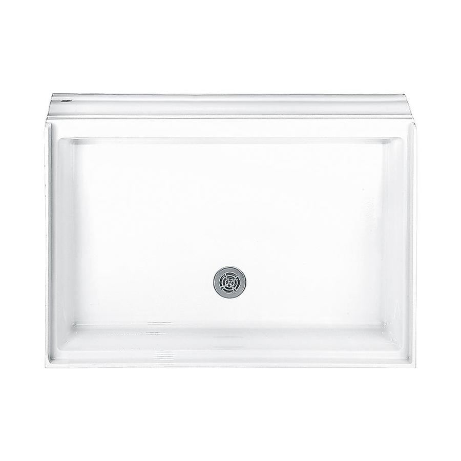Shop American Standard Town Square White Acrylic Shower Base (Common ...