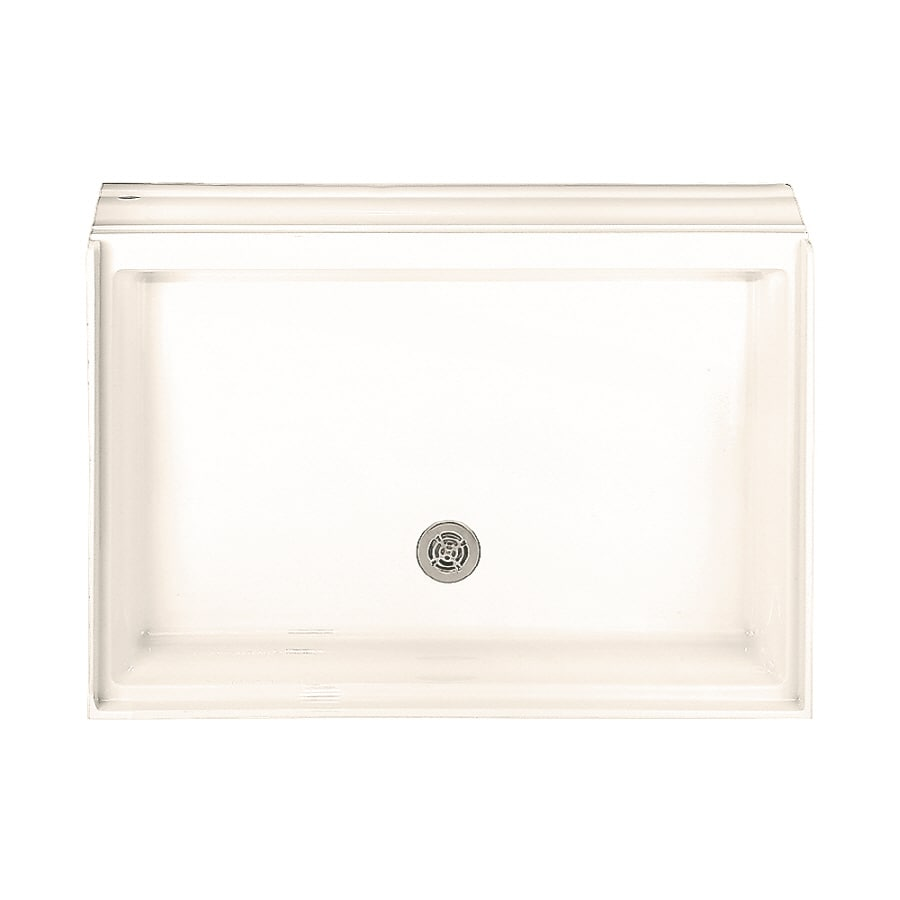 American Standard Town Square Linen Acrylic Shower Base (Common: 34-in W x 48-in L; Actual: 34-in W x 48-in L)